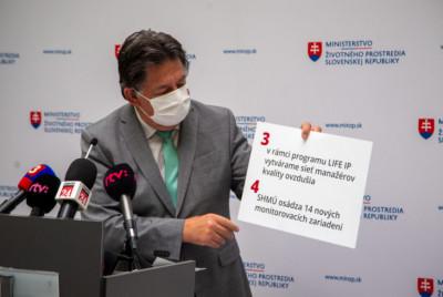 Minister Budaj si pripomenul Svetový deň čistého ovzdušia